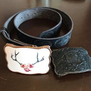wallet buckle & belt